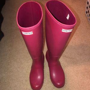 Hunter Knee Rain Boots